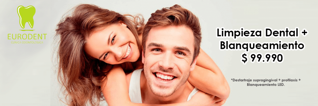 Promociones de limpieza Dental y blanqueamiento Led
